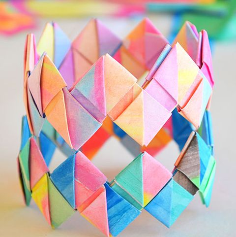 Fun Things to Do at a Sleepover - - Paper Bracelets