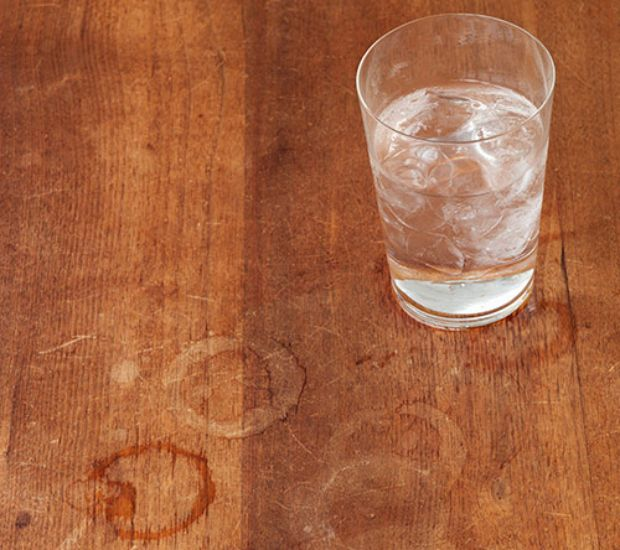 How To Remove Water Marks On Wood Heloise Hints - How Do You Remove A Watermark From Wooden Table