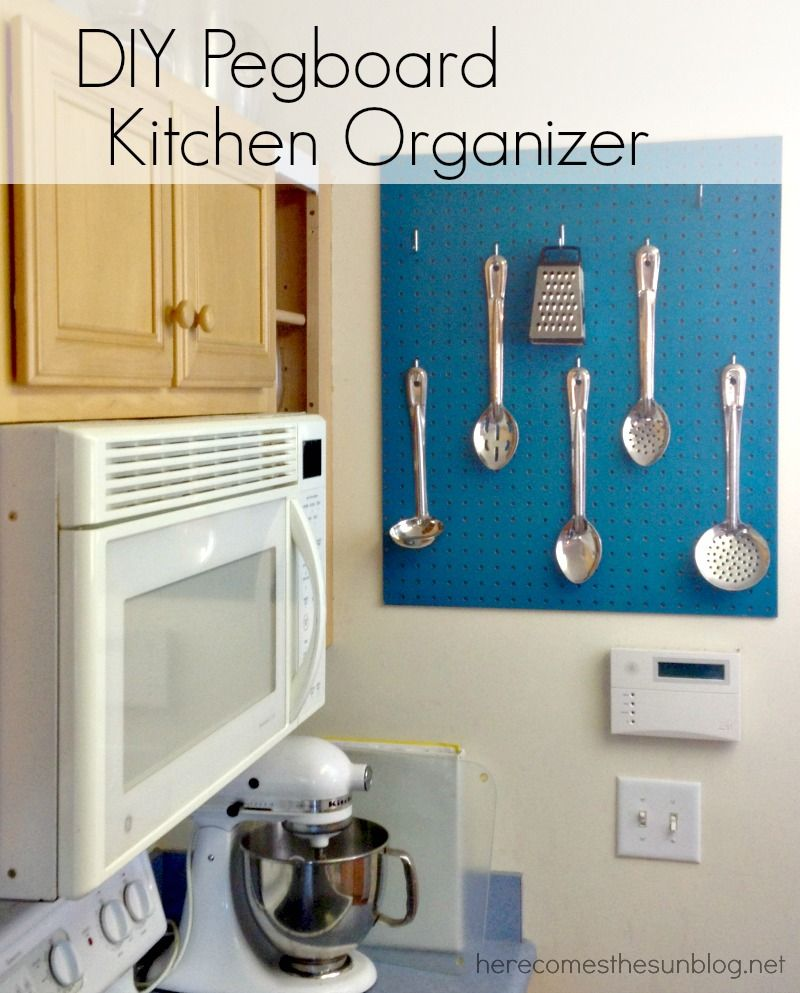 DIY Kitchen Utensil Organizers - Kitchen Utensil Organizing Ideas