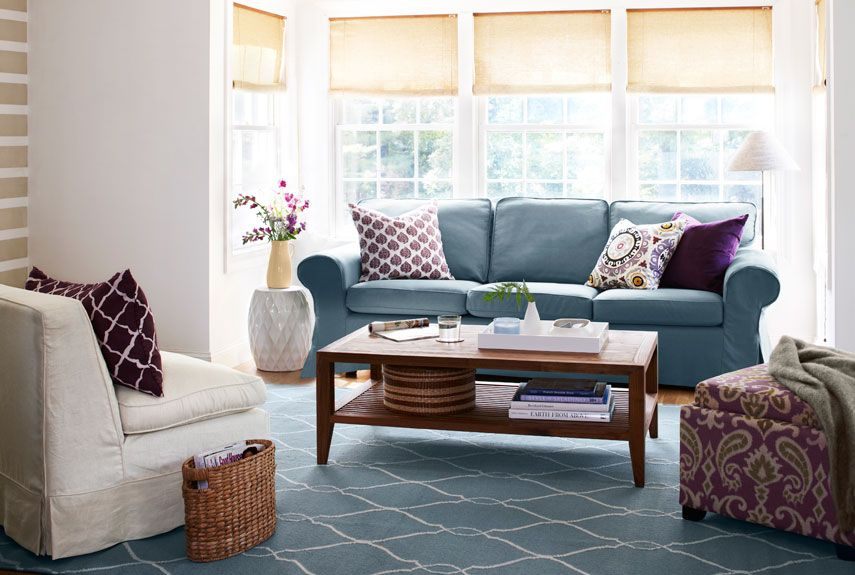 Charming Living Room Furniture Ideas Part - 1: Good Housekeeping