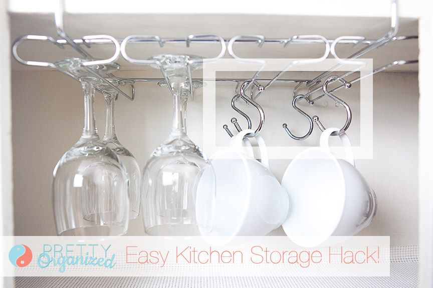 Shower Curtain Ring Organizing Ideas - New Uses for Shower Curtain Hooks