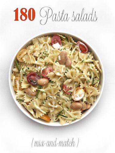 Mix-and-Match Pasta Salads