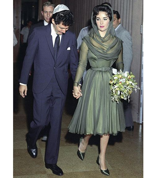 Elizabeth Taylor Wedding Dresses S Birthday And