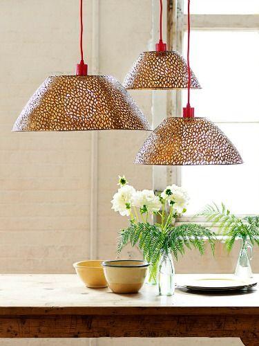Diy Pendant Lighting Crystal Shades Diy Home Decor Good Housekeeping Diy Bowl Pendant Lights How To Make Pendant Lights
