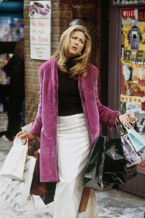 Jennifer Aniston as Rachel Green in <i>Friends</i>