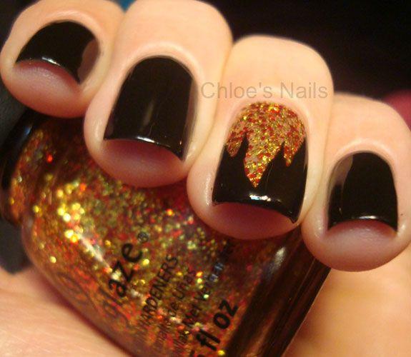20 Glitter Nail Art Ideas