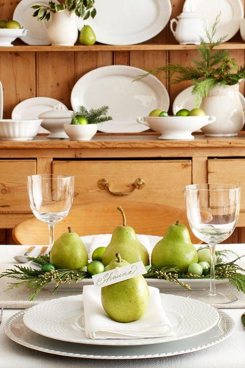 40 DIY Christmas Table Settings and Decorations ... - photo#16