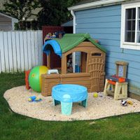 Backyard Play backyard play areas for kids - make your own backyard play area