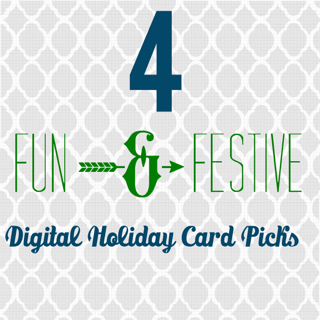 digital holiday cards save time and money