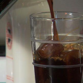 Brown, Liquid, Glass, White, Fluid, Tableware, Barware, Maroon, Transparent material, Black russian,