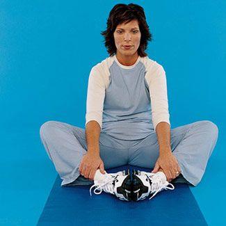Inner-thigh stretch