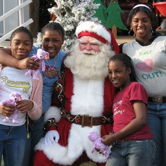 Santa in New Orleans
