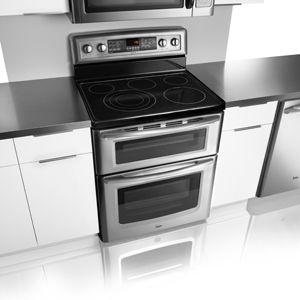Maytag Gemini Double Oven Electric Range Met8885x