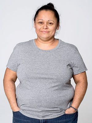 Nilma before her makeover