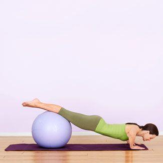 Balance Push-Up: Step 2
