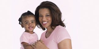 Naima and daughter Annelise