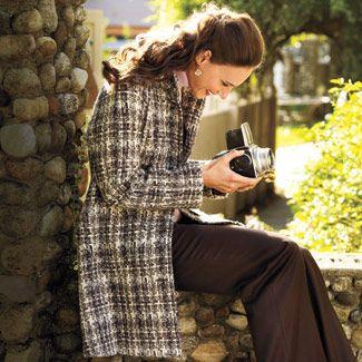 Carissa retro coat