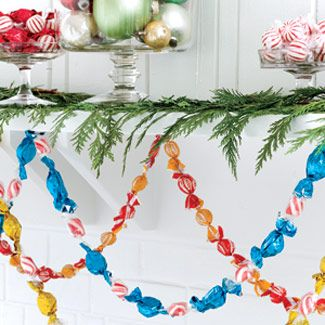 edible holiday garland