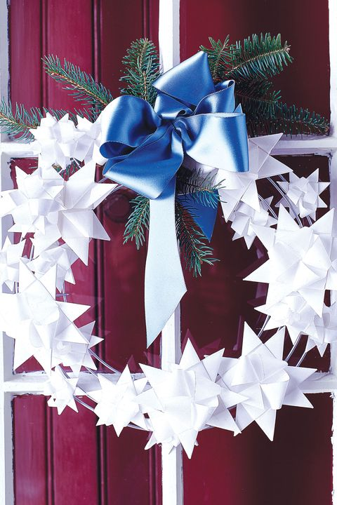paper star wreath