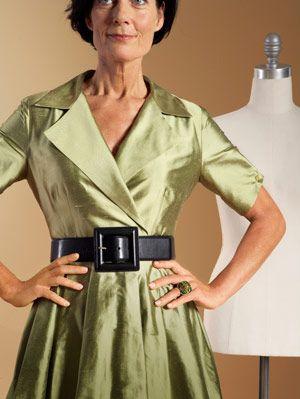dress with belt