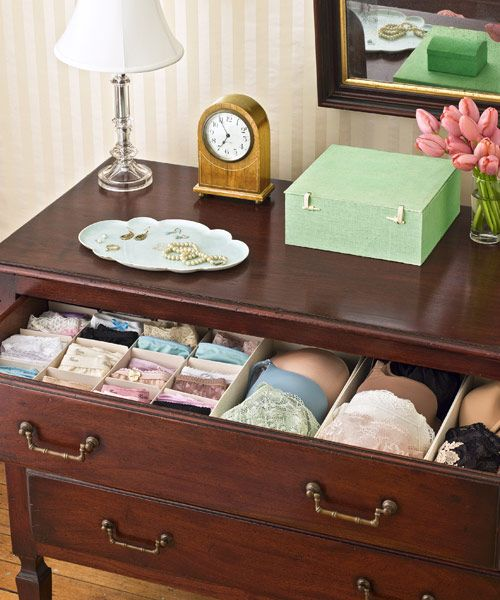 564a6d585af2 How to Organize Panties - Bra Storage and Organization