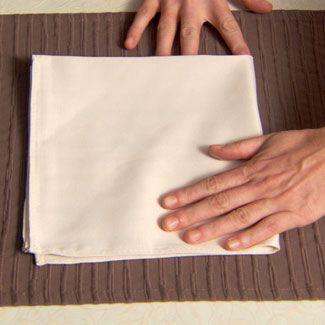 souffle napkin fold how to fold a napkin