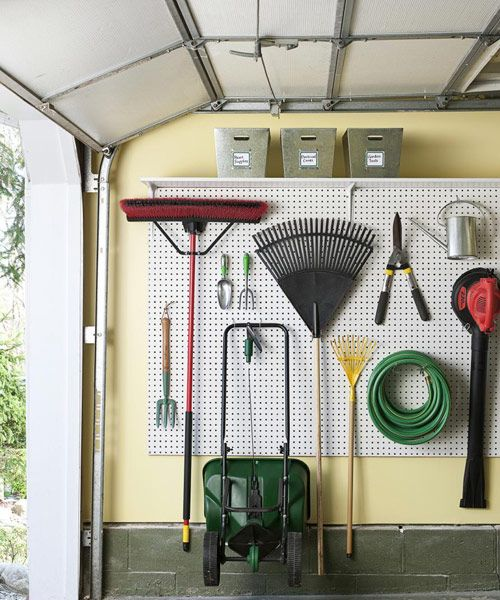 10 Garage Storage Ideas to Make Your Space Way More Functional