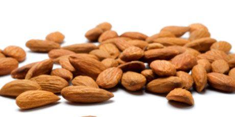 raw almonds raw nuts