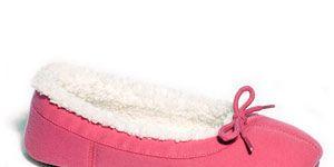 Dearfoams Sweatshirt Fleece Ballet Women S Slippers Review