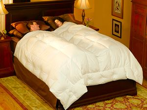 Perfect Pacific Coast Embrace Down Comforter