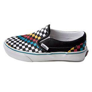 48ae93833576 Kids School Sneakers. Vans Slip-On Girls Sneakers Review