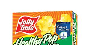 Jolly Time Healthy Pop Buter Flavor 94 Fat Free Popcorn Microwave