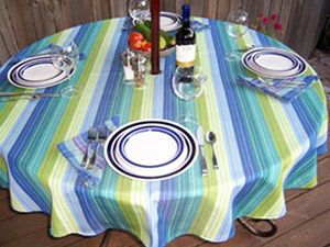 Superbe Outdoor Living Sunbrella Tablecloth