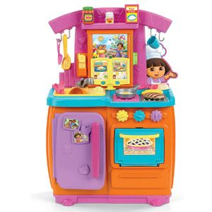 dora the explorer fiesta favorites kitchen review rh goodhousekeeping com dora the explorer kitchen walmart dora the explorer kitchen accessories
