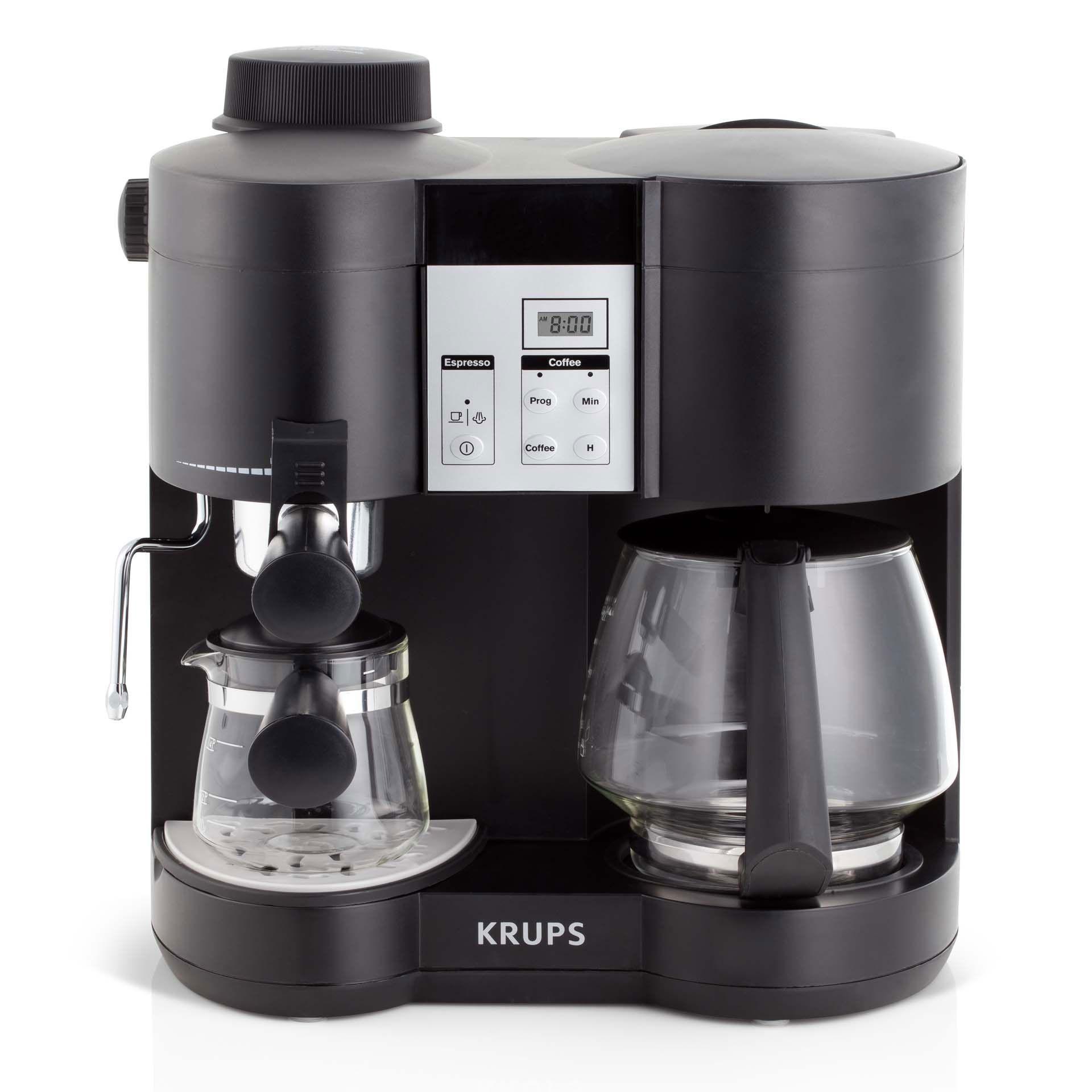 Krups Xp1600 Combi Steam Espresso Machine Review