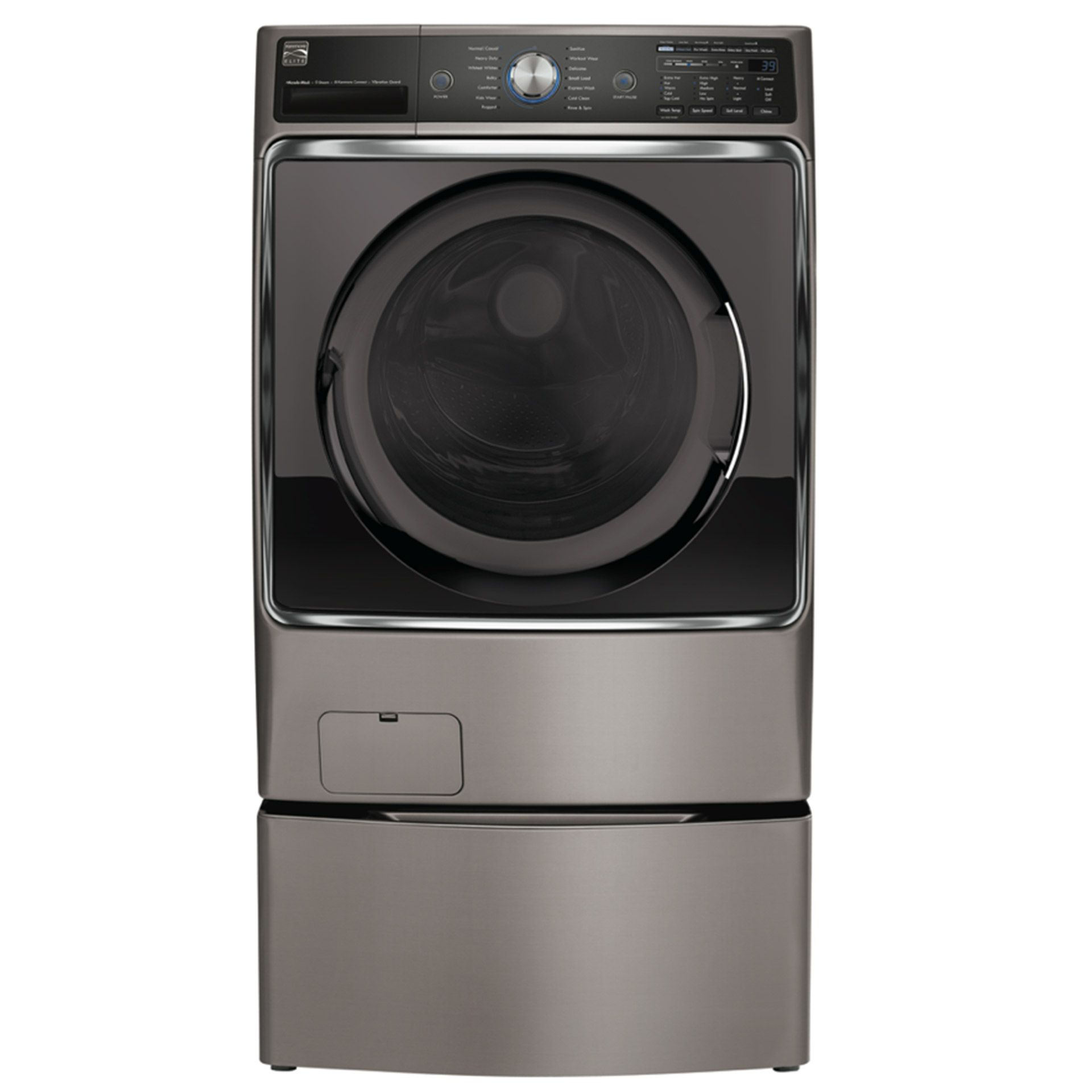 Kenmore Elite 5.2 cu. ft. Front-Load Washer #41073 Review