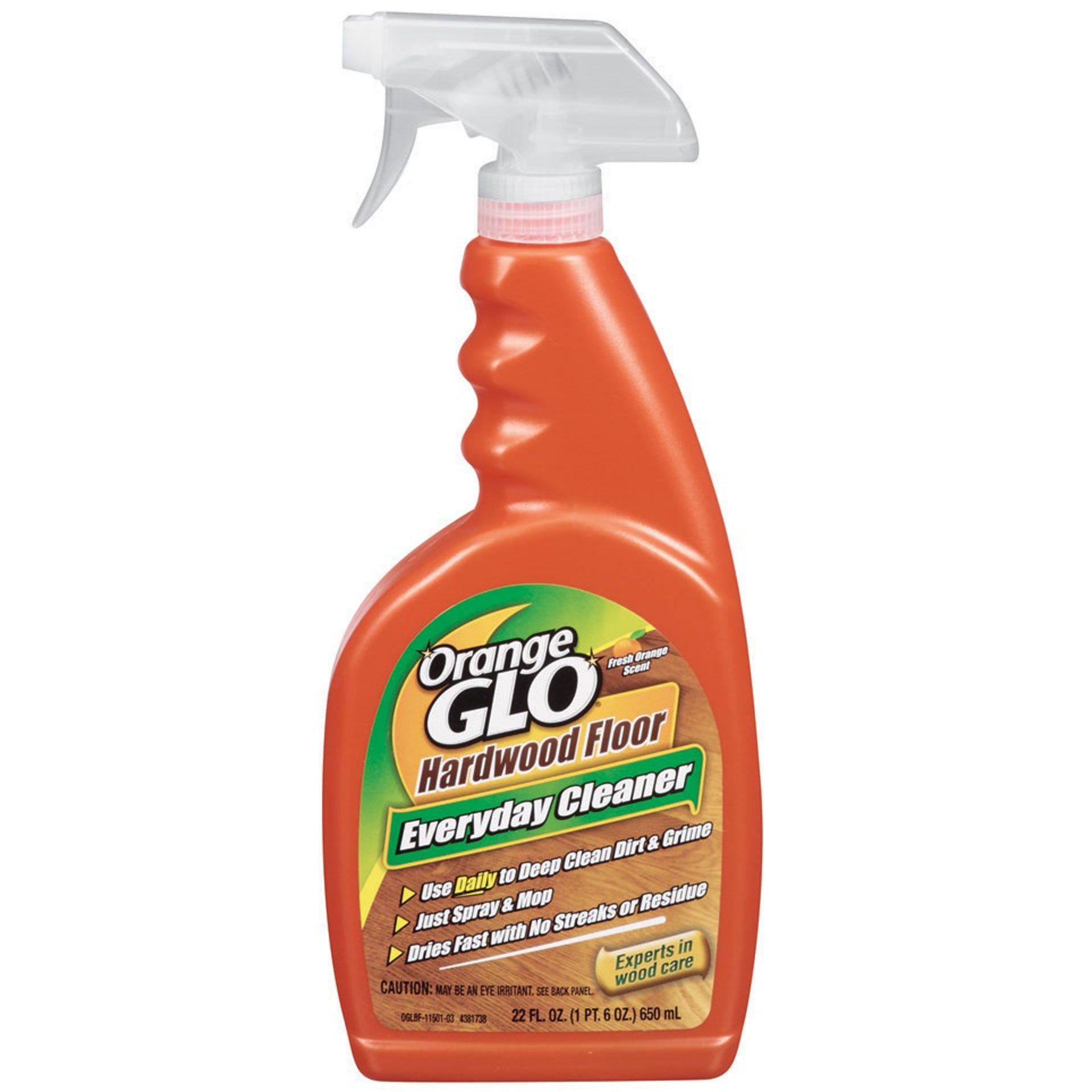 Orange Glo Hardwood Floor Everyday