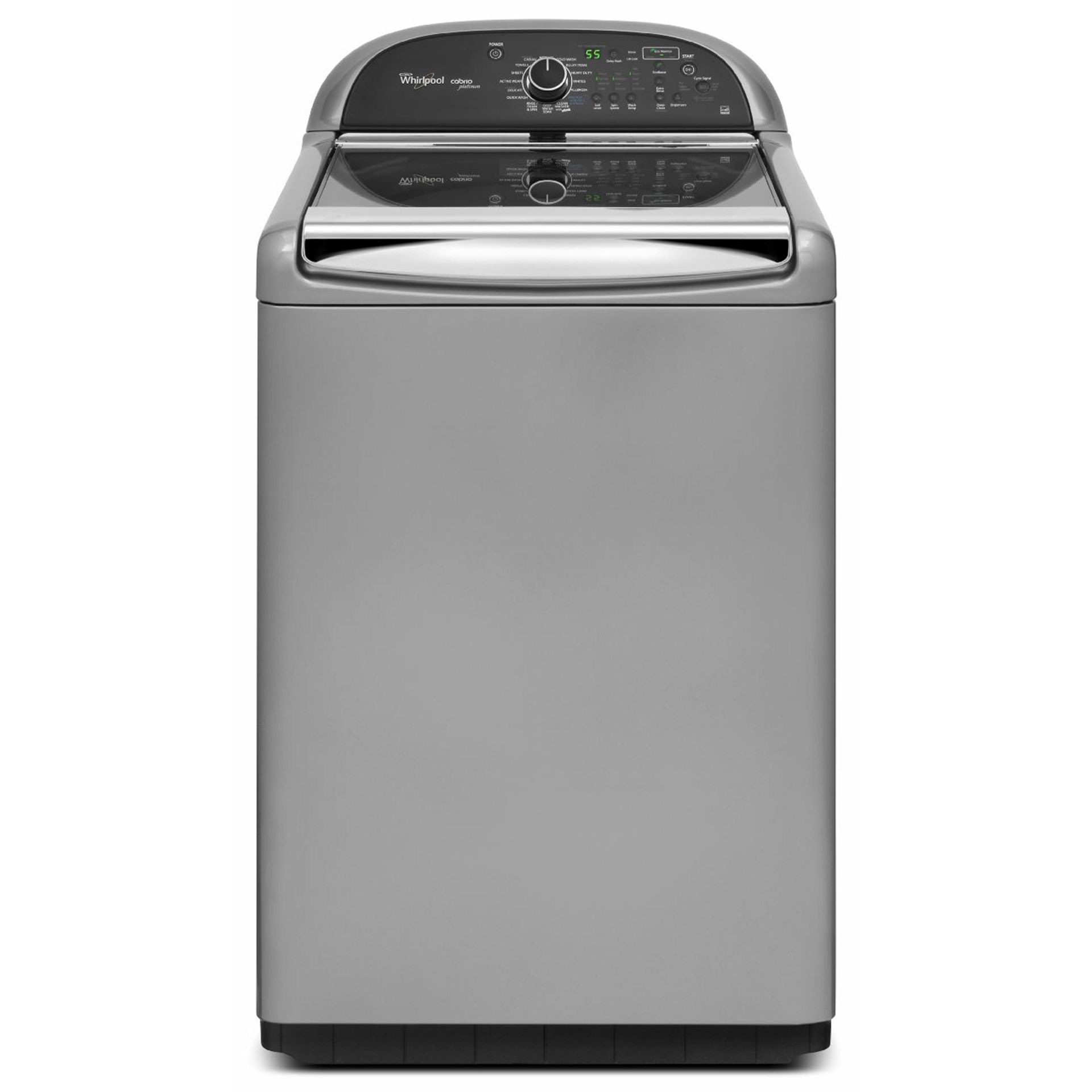 Whirlpool Cabrio Platinum 4 8 Cu Ft He Top Load Washer With