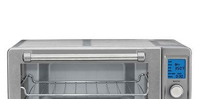 gs toaster metallic in broiler deals deluxe cuisinart oven convection red