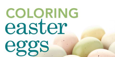 Coloring Easter Eggs Video Clip