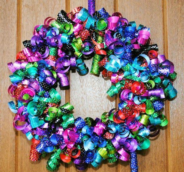 diy ribbon wreaths craft a wreath for your door