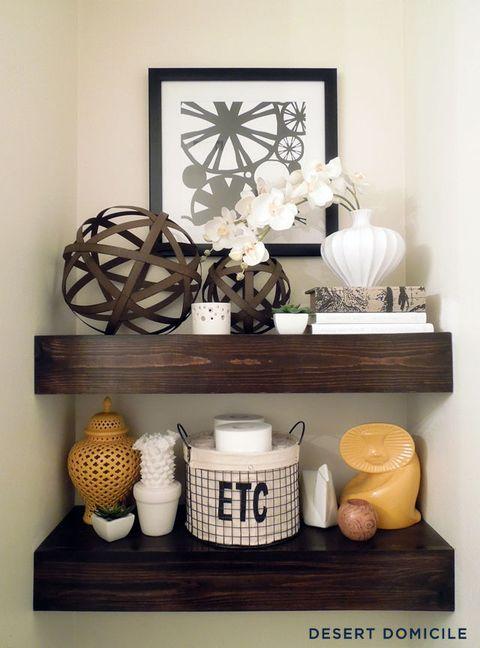 b979355630963 Ideas for Floating Shelves - Floating Shelf Styles