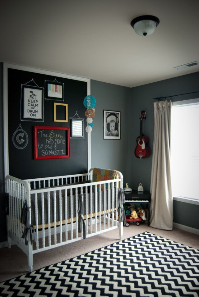 Black Walls - Home Paint Ideas