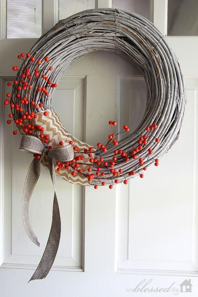 Diy Winter Wreaths Winter Decor Crafts,Best Paint Color For Ceilings
