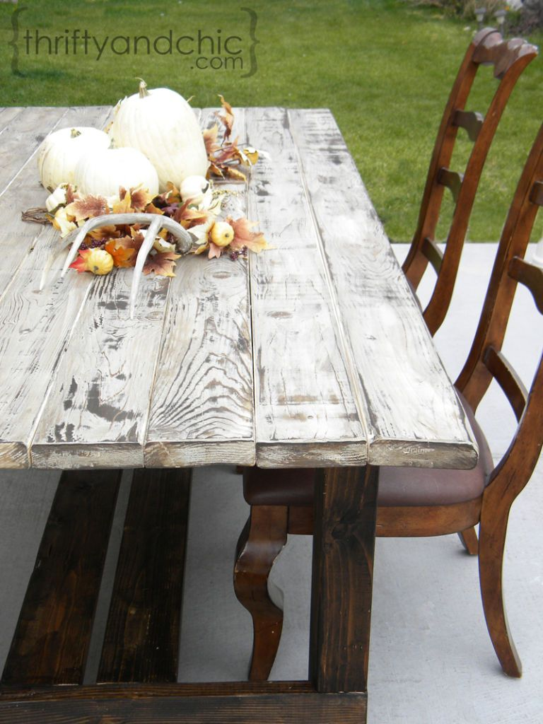 Superbe Thrifty And Chic. Distressed Wood