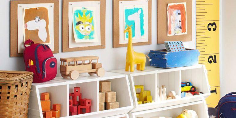 image & Kids Storage Solutions - Organizing Kids Rooms
