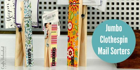 7 Cute Projects That Help Control Mail Clutter