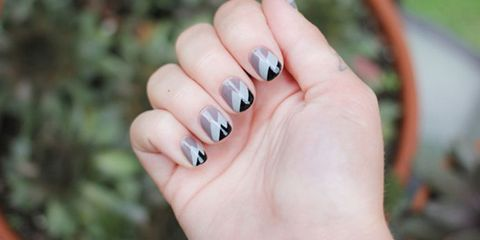 Gray Nail Art Ideas Chic Manicures With Gray Polish