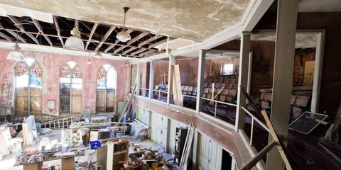Before & After: An Abandoned Church Gets A Modern Makeover
