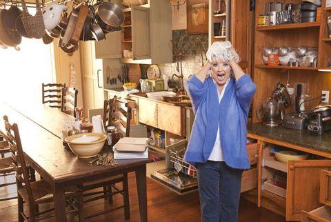 paula deen in kitchen